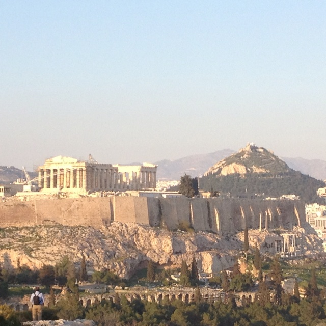 Athens - it was amazing to see the ruins!  Glad I went before all of the chaos!
