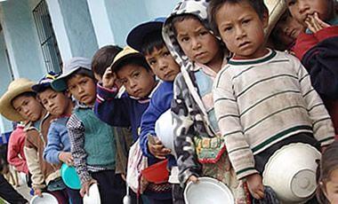 en el siglo XXI los  niños de todo el país nacen desnutridos