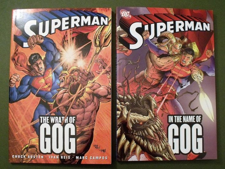 Superman In The Name Of GOG And The Wrath Of GOG Two