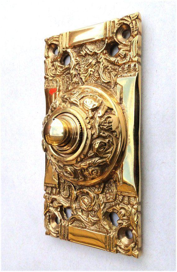 Solid Br Electric Door Bell
