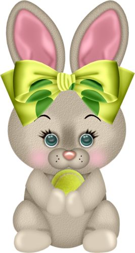 TUBES LAPINS Easter BunnyHappy