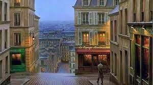See like people lives on Montmartre