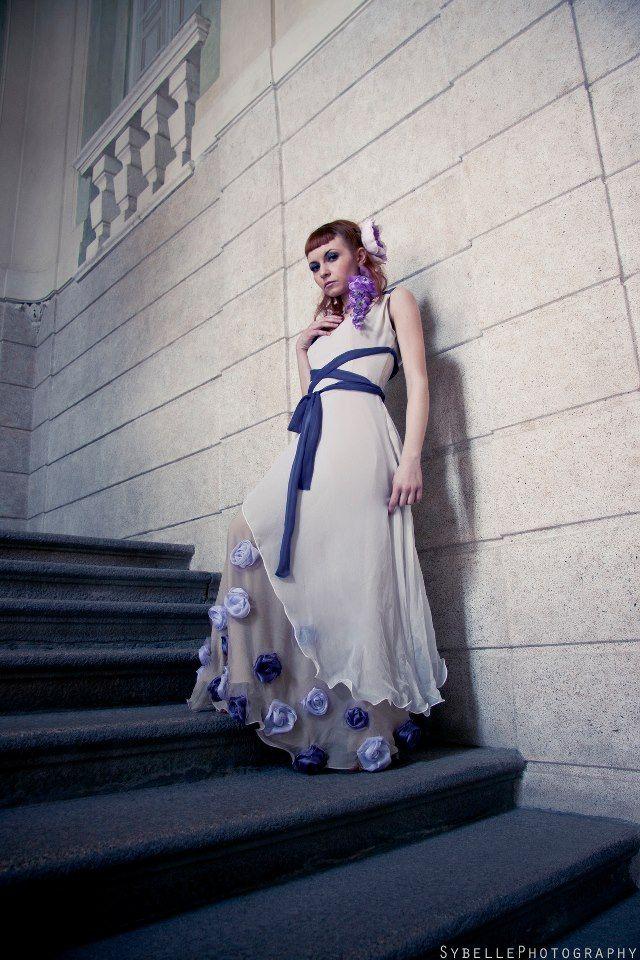 """WISTERIA IN BLOOM"" - bridal bucolic dress"