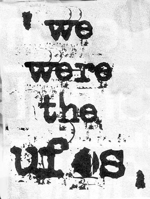 We were the Ufo's