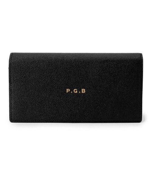 "B印 YOSHIDA(×PORTER)のPORTER×B印 YOSHIDA ""P.G.B"" LONG WALLETです。こちらの商品はBEAMS Online Shopにて通販購入可能です。"