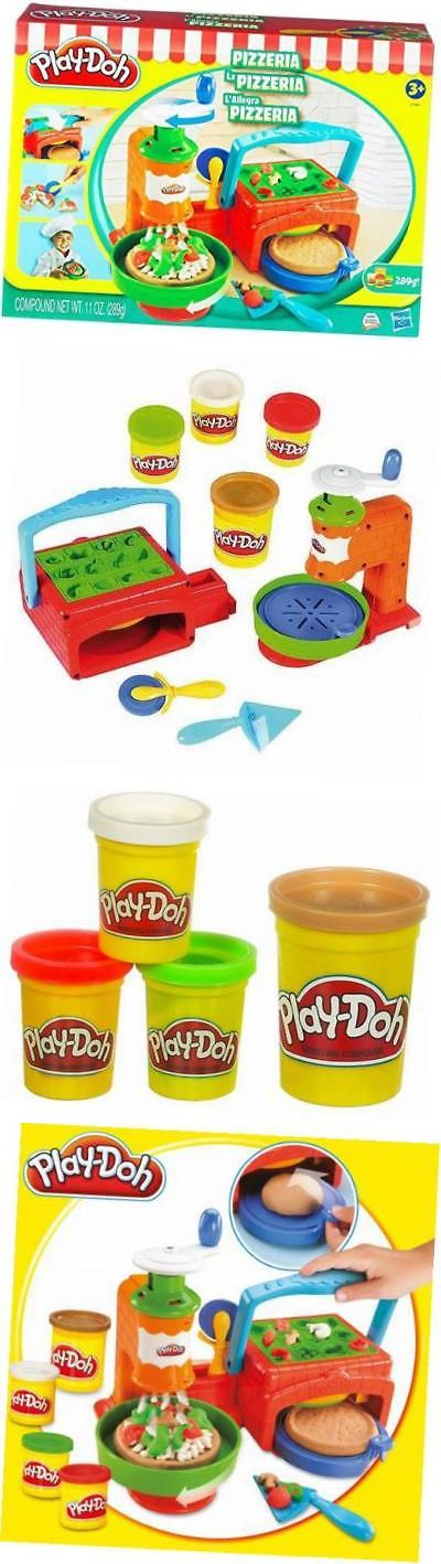 Play-Doh Modeling Clay 11740: Hasbro Play Doh Pizzeria Pizza Playset -> BUY IT NOW ONLY: $48.58 on eBay!