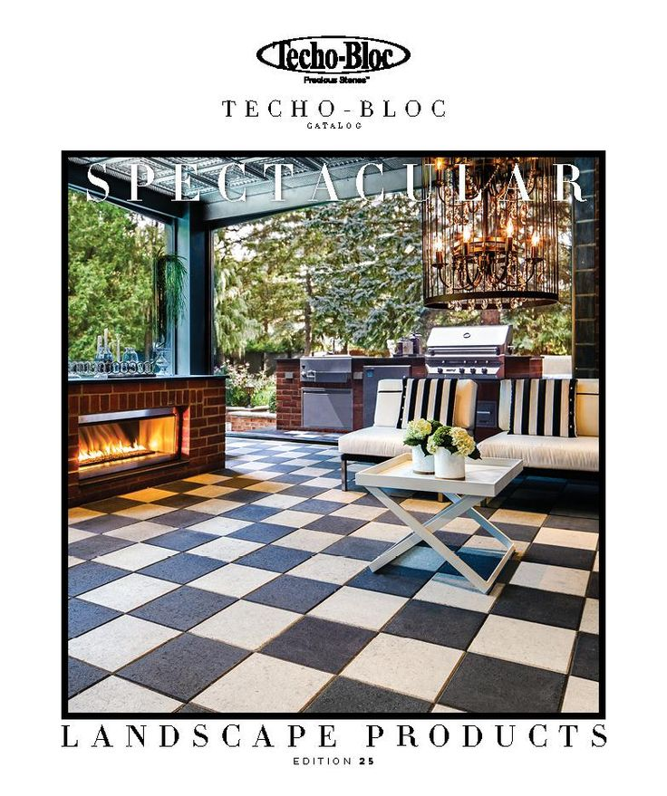 #Outdoor #Modern #landscape #products We're laying the ground for spectacular. The 2015 Techo-Bloc catalog is now available in store and online. Start the summer early. http://bit.ly/TechoCatalog2015