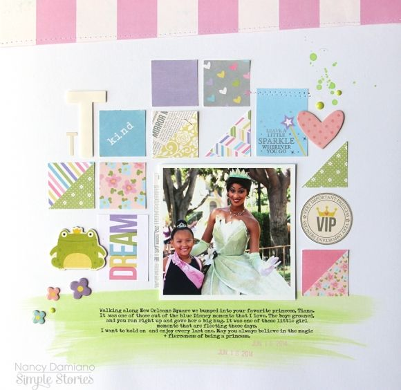 Layout by design team member Nancy Damiano