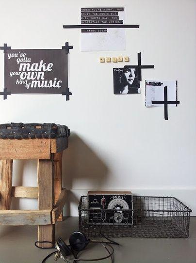 Inspirational wall // Manu Cohen