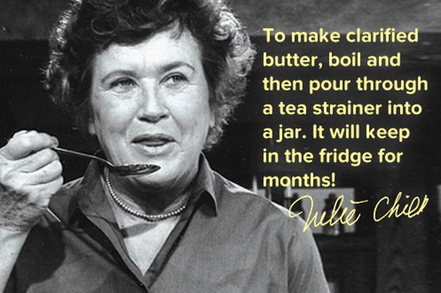 8 Cooking Tips From Julia Child For People Who Aren't Lazy Home Chefs