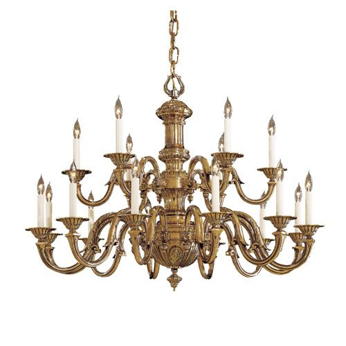 Metropolitan Lighting Vintage Antique Br Eigh Light Two Tier Chandelier Products
