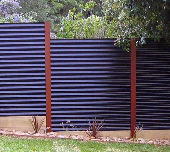 Top 50 Best Privacy Fence Ideas Shielded Backyard Designs With