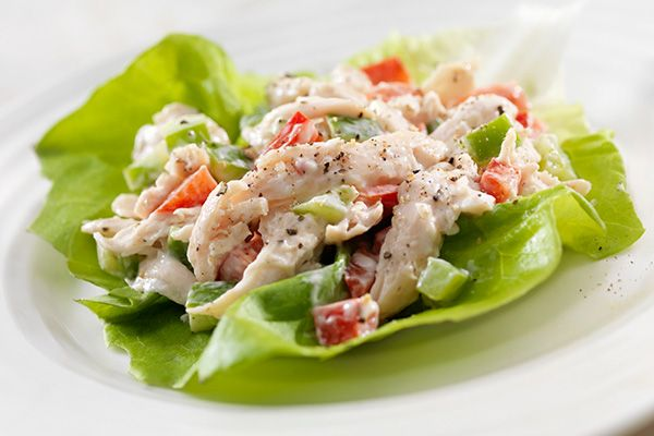 Summer Chicken Salad A chicken salad that makes the perfect light Summer lunch.