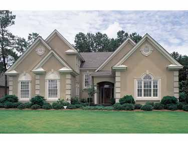 The colors on my stucco home are similar to those shown here.