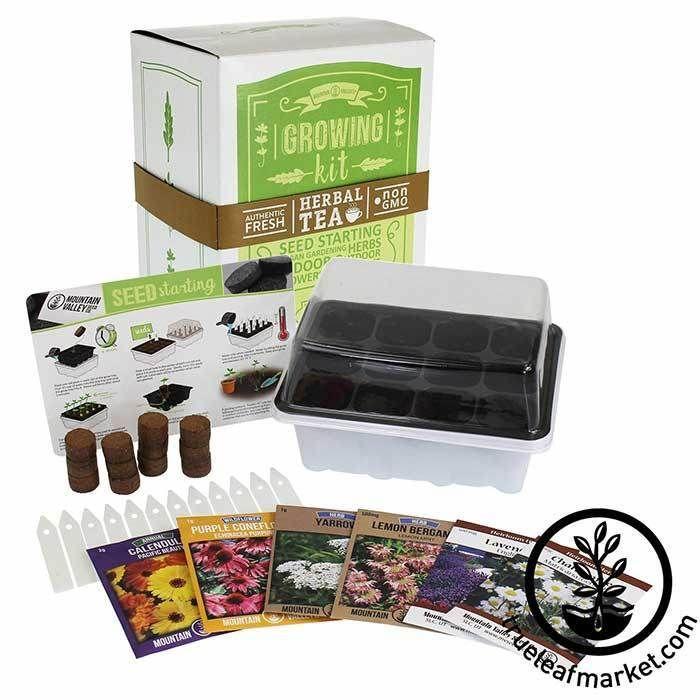 Seed Starter Kit Medicinal Herbal Tea Seed Starter Kit