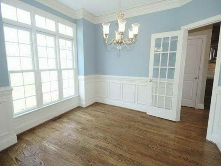 raised panel wainscoting with ocean blue colour my dream