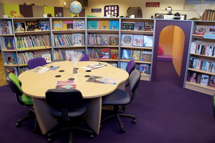 A School Library created by Incube Ltd for Wybourne Community Primary School