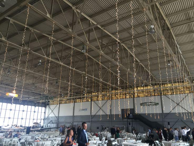 Airplane Hangar Wedding