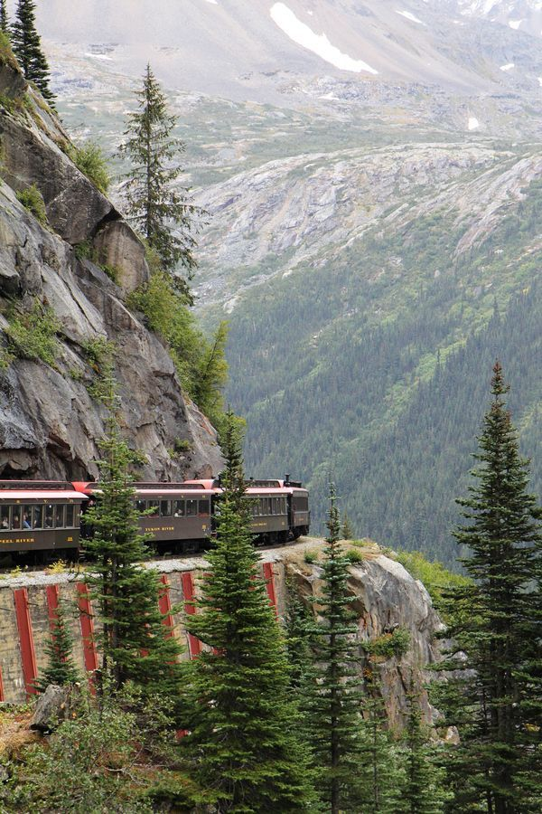 Skagway, Alaska, USA - I am always saying how i would give anything to travel across the world by train, and maybe i am boring, but here it is again. I would give anything to travel Alaska and to see the landscapes by train. To experience its wilderness to the core, can only be done if you are following the rail road. Maybe this summer my wish will come true, if i am done with my work on the East cost i will definitely fly up to Alaska and do the trip. Dragan Tapshanov - 07/02/2014