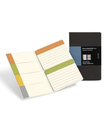 Take a look at this Folio Stick Note Set by Moleskine on #zulily today! $7 !!
