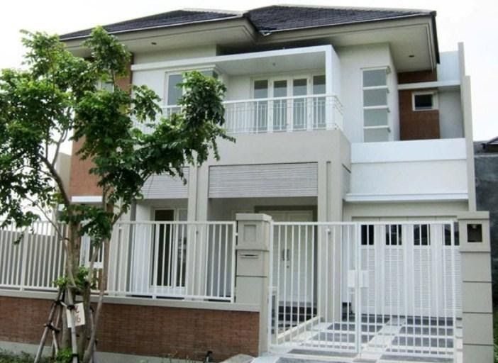 Cat Putih Untuk Rumah Minimalis In 2020 With Images House