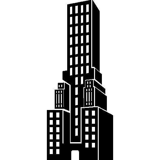 Tower building I Free Icon