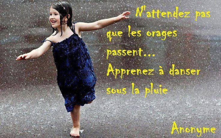 danser sous la pluie