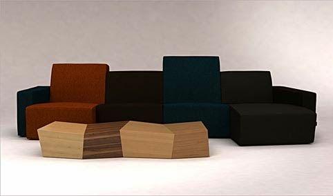 Muebles de diseño de Lubo Majer para Dizajno