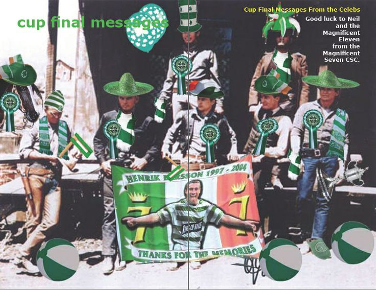 Hail Hail to the Magnificent 11 from the Magnificent 7 CSC.