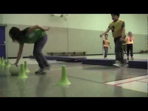 Capture the Cone. This invasion game is fast paced and can be easily modified for all grade levels. Teams are challenged to capture all the other teams cones!