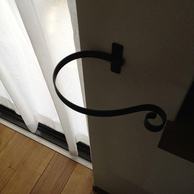カーテンタッセル/リビングのインテリア実例 - 2012-06-22 09:07:44 | RoomClip(ルームクリップ)