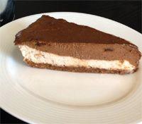Raw Chocolate Banana Mousse Cake - Natural New Age Mum | Natural New Age Mum