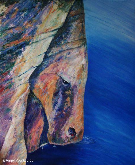 ΕΡΗΜΙΤΗΣ, λάδι σε καμβά, 100x130cm, 2008 EREMITE, oil on canvas, 100x130cm, 2008