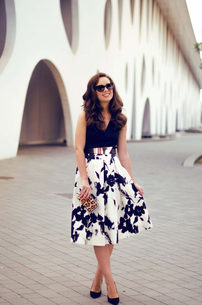 How to mix a midi skirt in your summer outfit : MartaBarcelonaStyle's Blog
