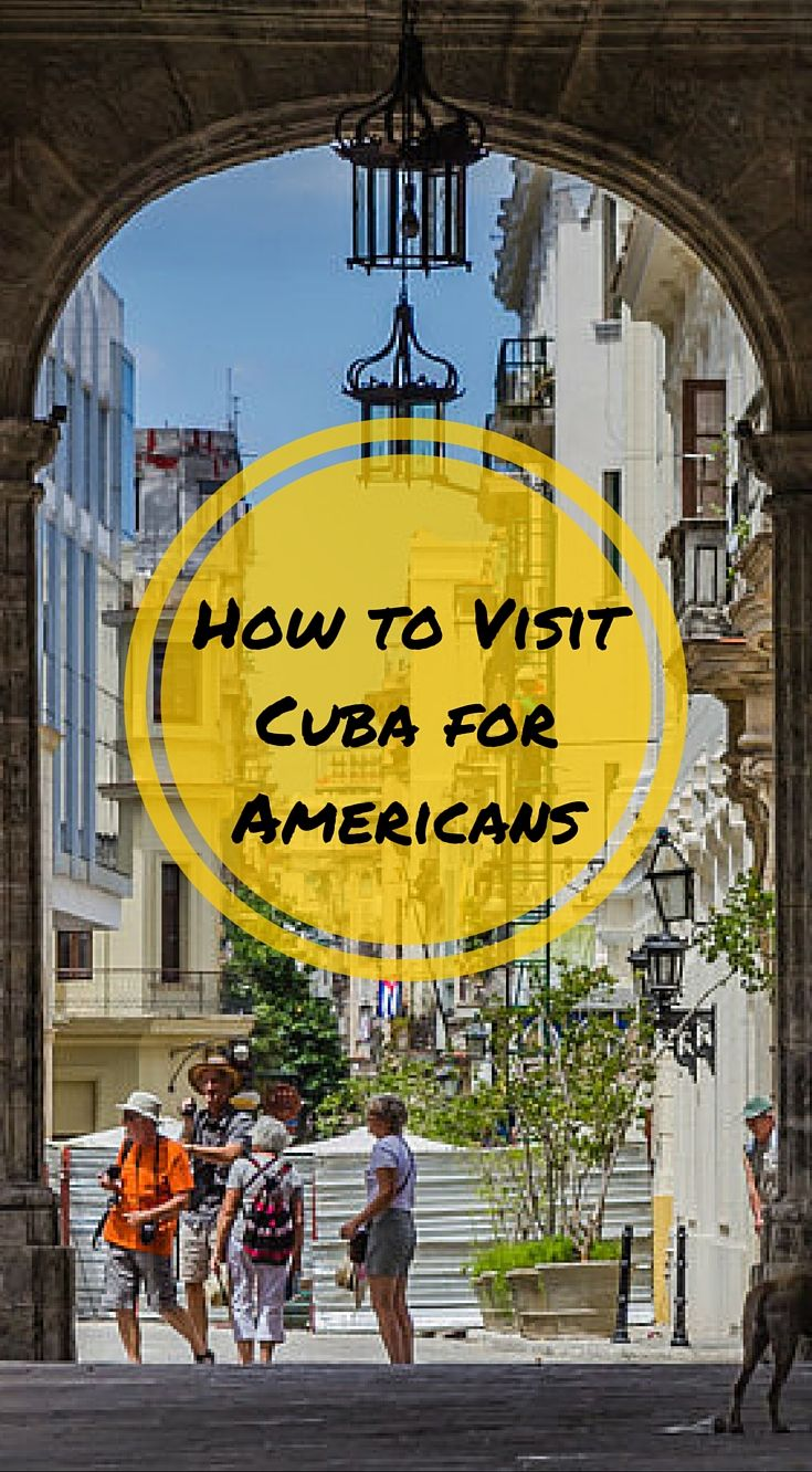 How to Visit Cuba For Americans. The short answer here is no. It is still illegal for Americans to vacation in Cuba. However, there are two ways for Americans to travel to Cuba legally. If you qualify or book a trip to Cuba in one of these two ways, then you will be traveling to Cuba legally. Click to read the full travel blog post at http://www.divergenttravelers.com/how-to-visit-cuba-for-americans/