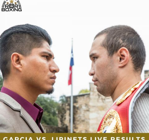 Garcia vs. Lipinets Results: Live Round By Round Boxing Updates #LiveBlogsandResults #MikeyGarcia #allthebelts #boxing