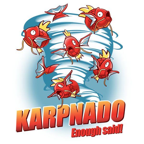 CAUTION! Karpnado area! - by KingsandQueens on NeatoShop