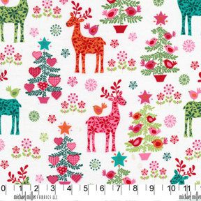 NORDIC HOLIDAY Multi Reindeer Play by  by spiceberrycottage, $8.90: Quilts Fabrics, Miller Nordic, Christmas Holidays, Nordic Holidays, Christmas Fabrics, Nordic Christmas, Christmas Stockings, Christmas Trees Ornaments, Michael Miller