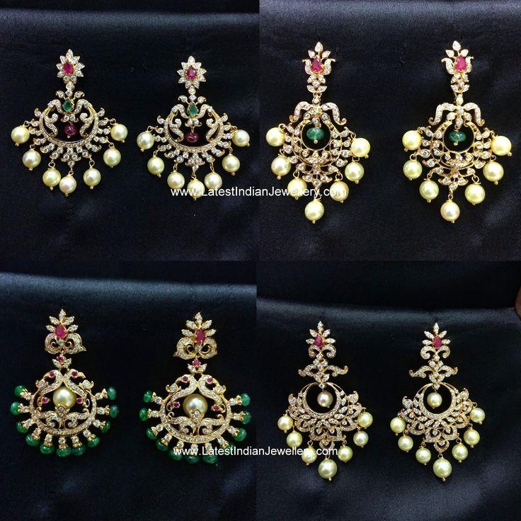 Diamond Chandbali Collection