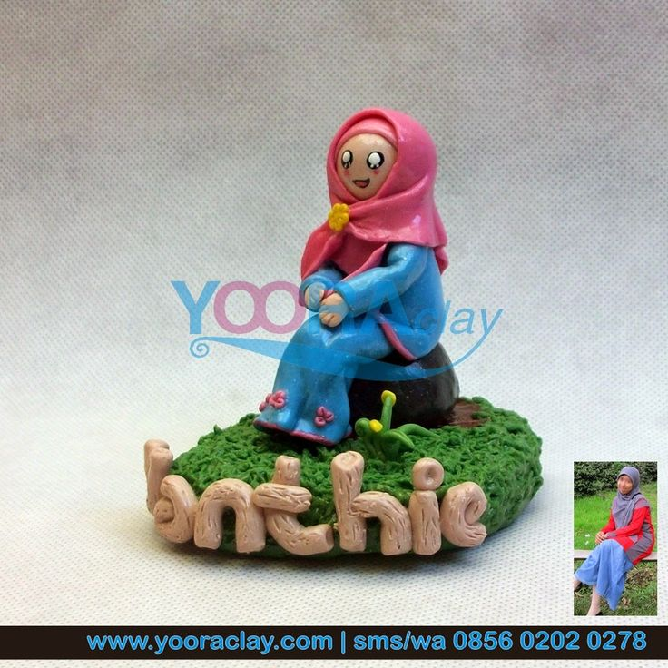 Clay Figure 'Thie'
