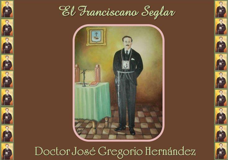 Con su cordón y escapulario, nuestro hermano Franciscano seglar José Gregorio Hernández servía a Dios  desde la espiritualidad franciscana, poniendo siempre empeño en dar lo mejor a sus pacientes  y a la  sociedad caraqueña