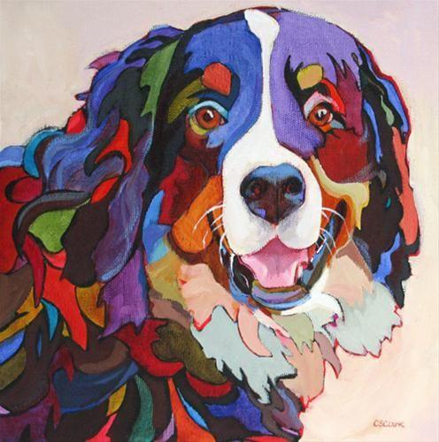 "❦ ""Say Cheese"" - Original Fine Art for Sale - © Carolee Clark"