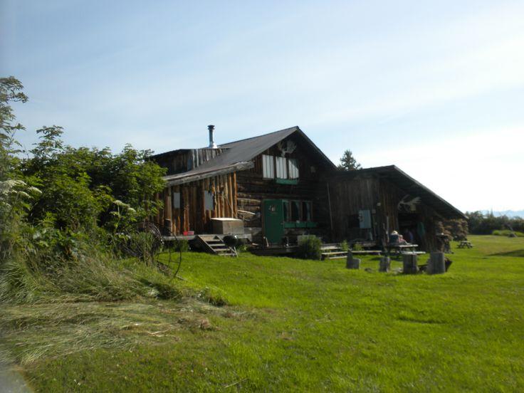 The barn on the Kilcher homestead.