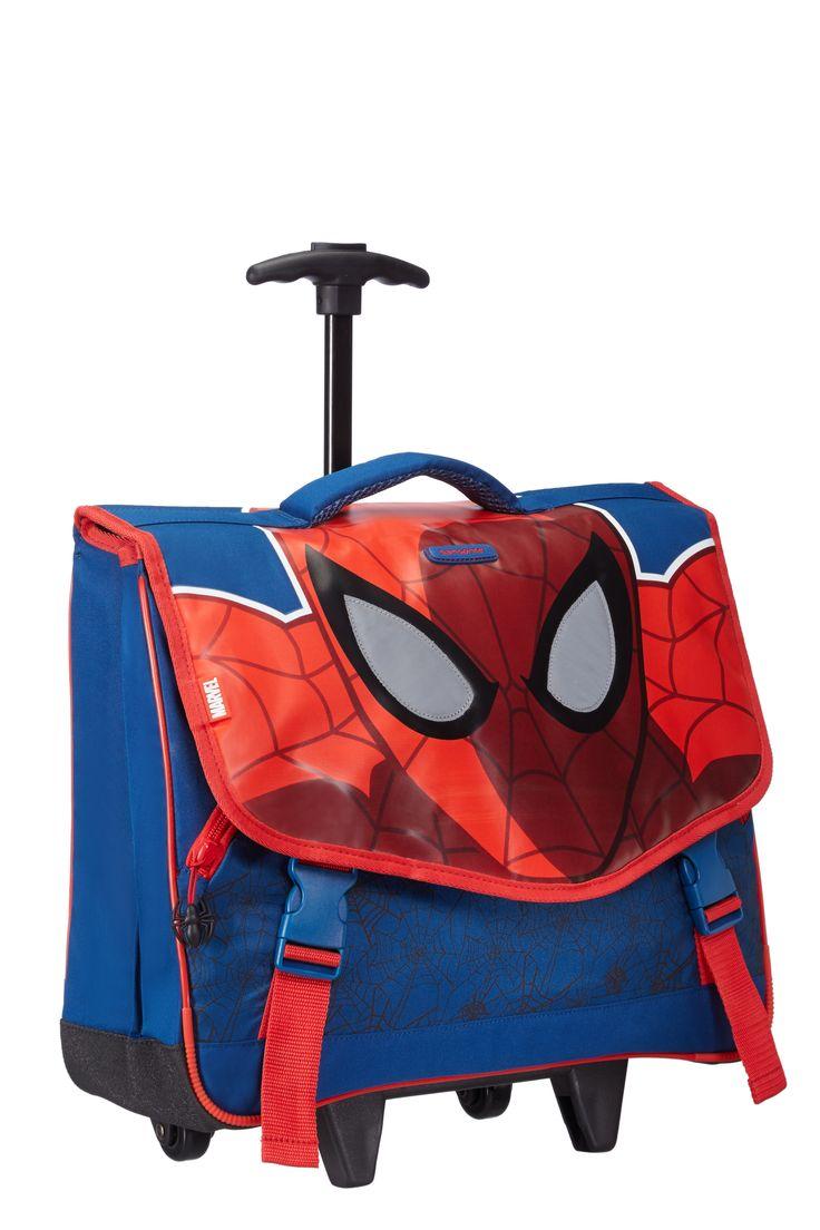Marvel Wonder - Spider-Man Roll Schoolbag #Disney #Samsonite #Marvel #SpiderMan #Travel #Kids #School #Schoolbag #MySamsonite #ByYourSide