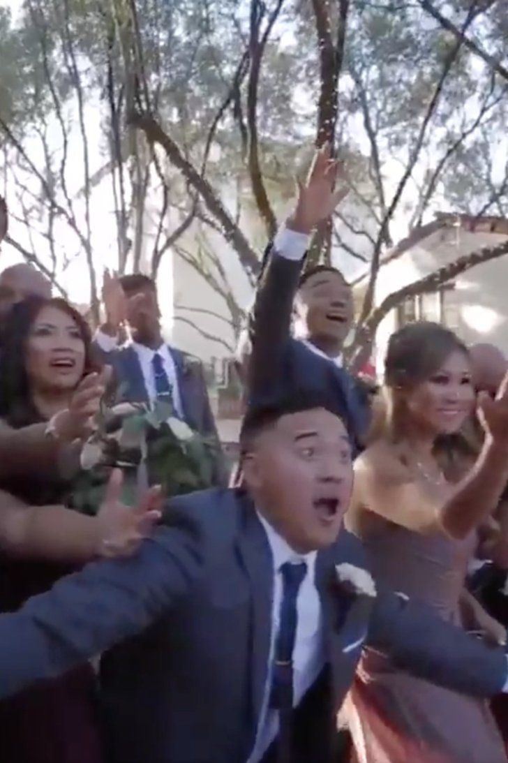 This Entire Wedding Just Did the Most Flawless Mannequin Challenge We've Ever Seen