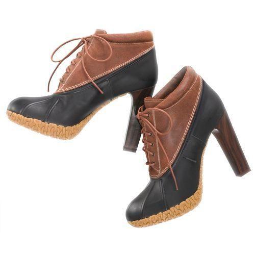 cdf49d522 prepppy girl bean boots as high heels
