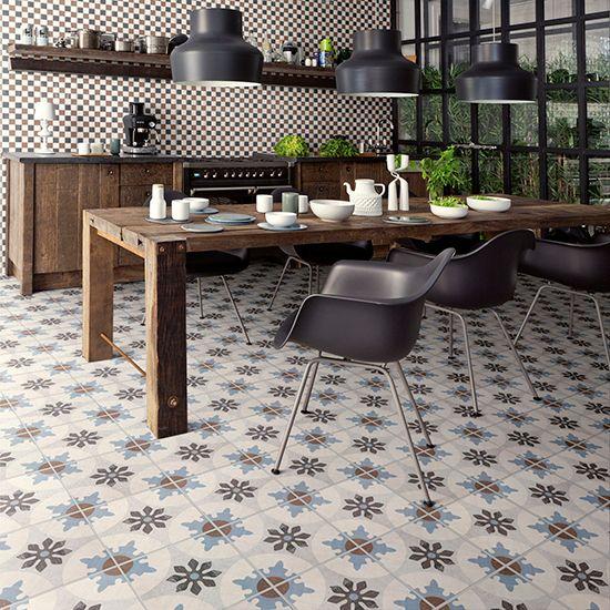 Kitchen flooring | Kitchens | PHOTO GALLERY | Beautiful Kitchens | HousetoHome.co.uk