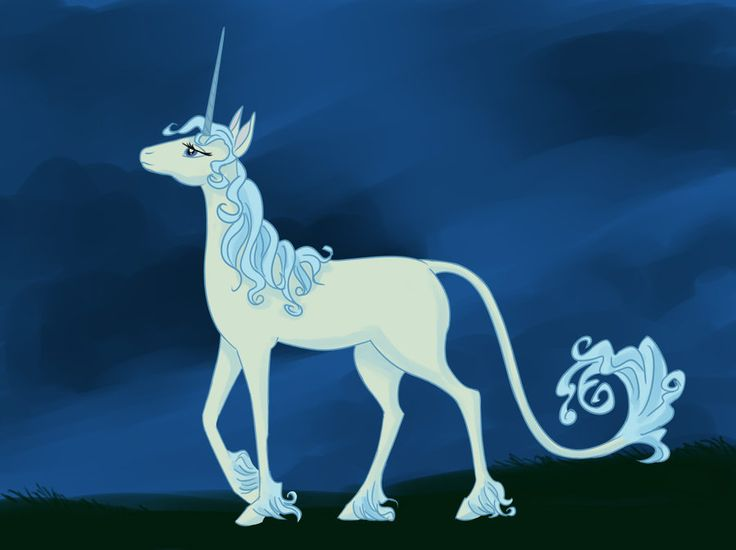 The concept of happy endings in the story the last unicorn