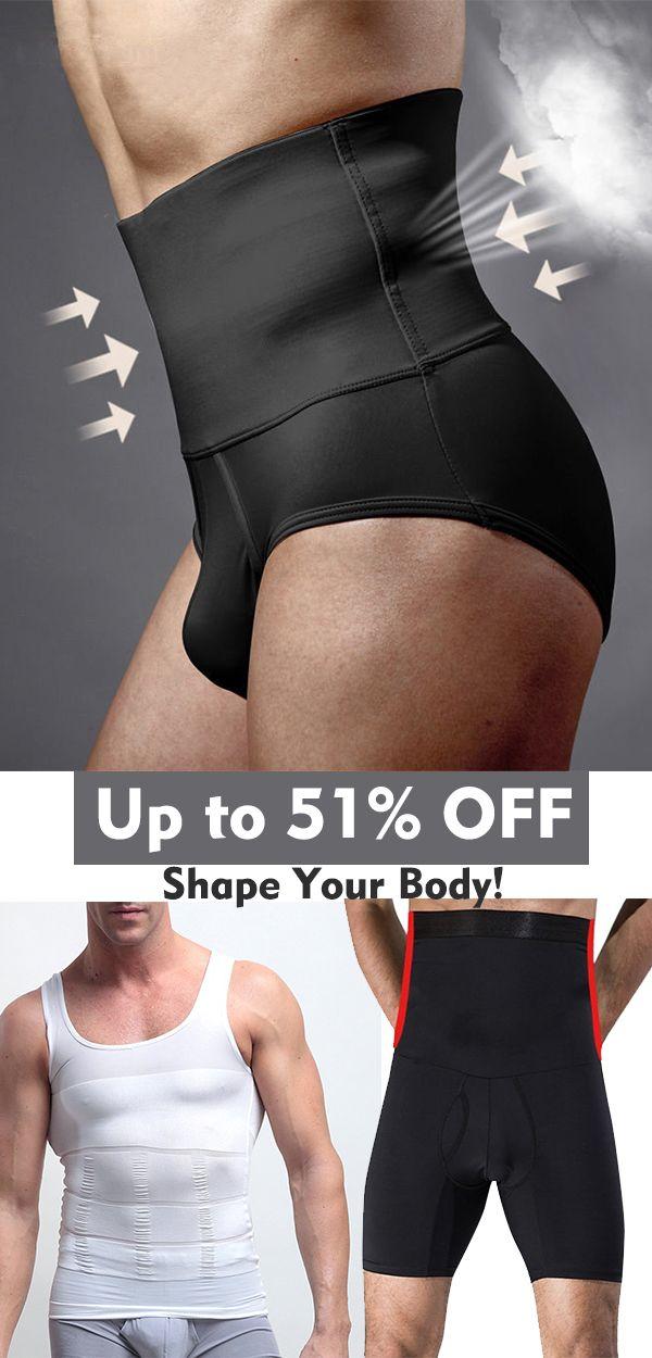 b265812a2bdfc Slimming Fitness Underwear Bodysuit Shapewear  menswear  fitness  diet