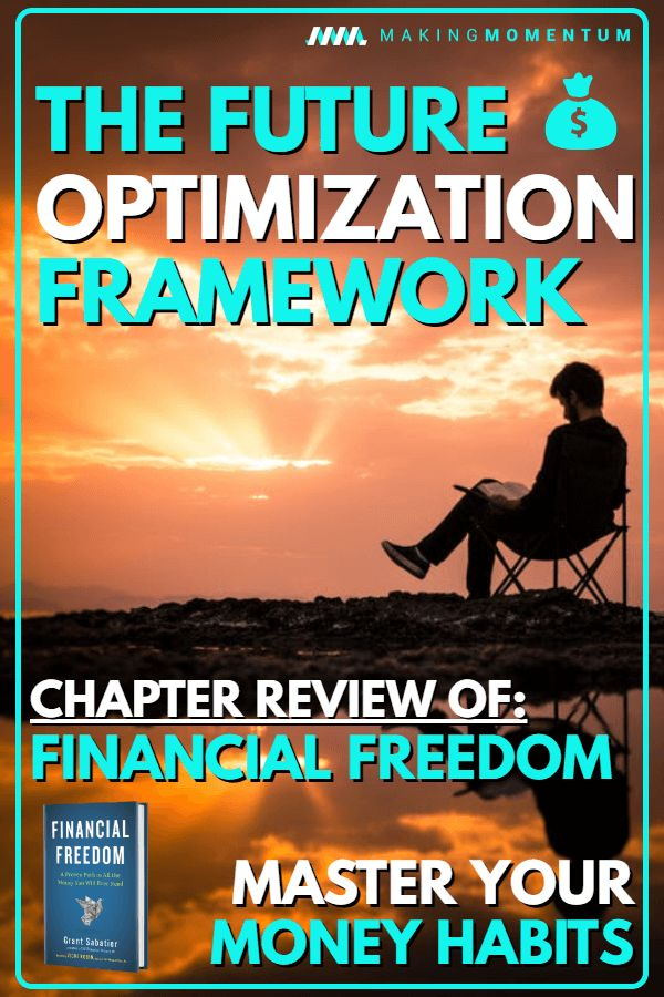 The Future Optimization Framework Financial Freedom Book Review Chapter 13 Blogging